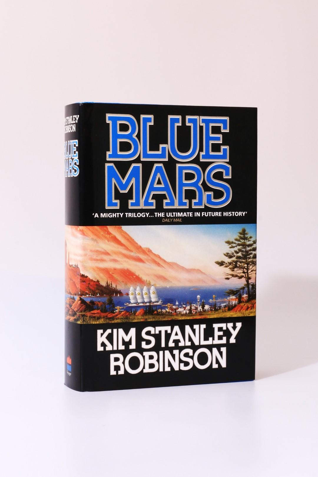 Kim Stanley Robinson - Blue Mars - Harper Collins, 1996, Signed First Edition.