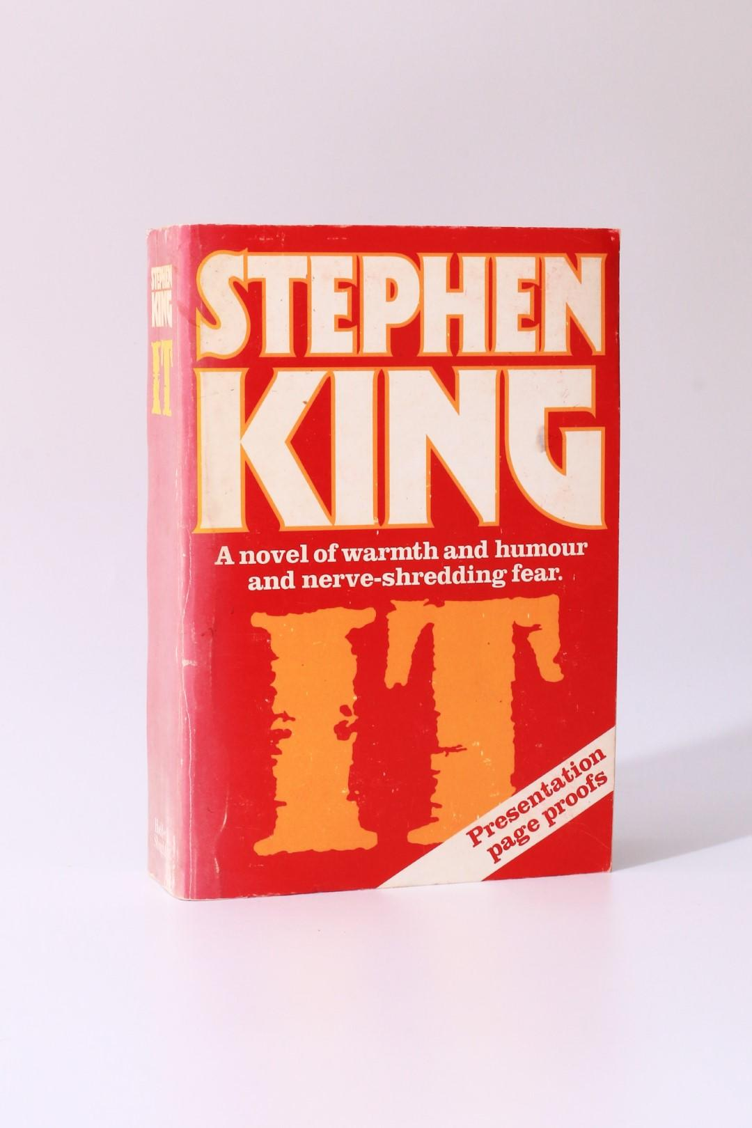 Stephen King - IT - Uncorrected Proof - Hodder & Stoughton, 1986, Proof.