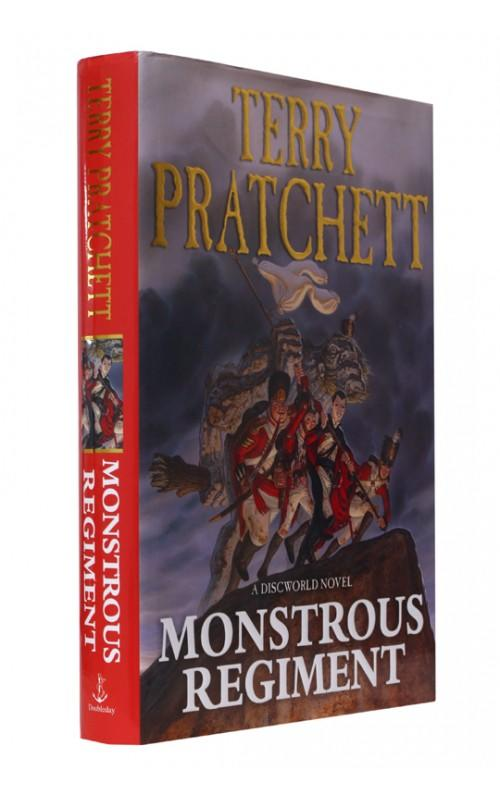Terry Pratchett - Monstrous Regiment - Doubleday, 2003, UK First Edition