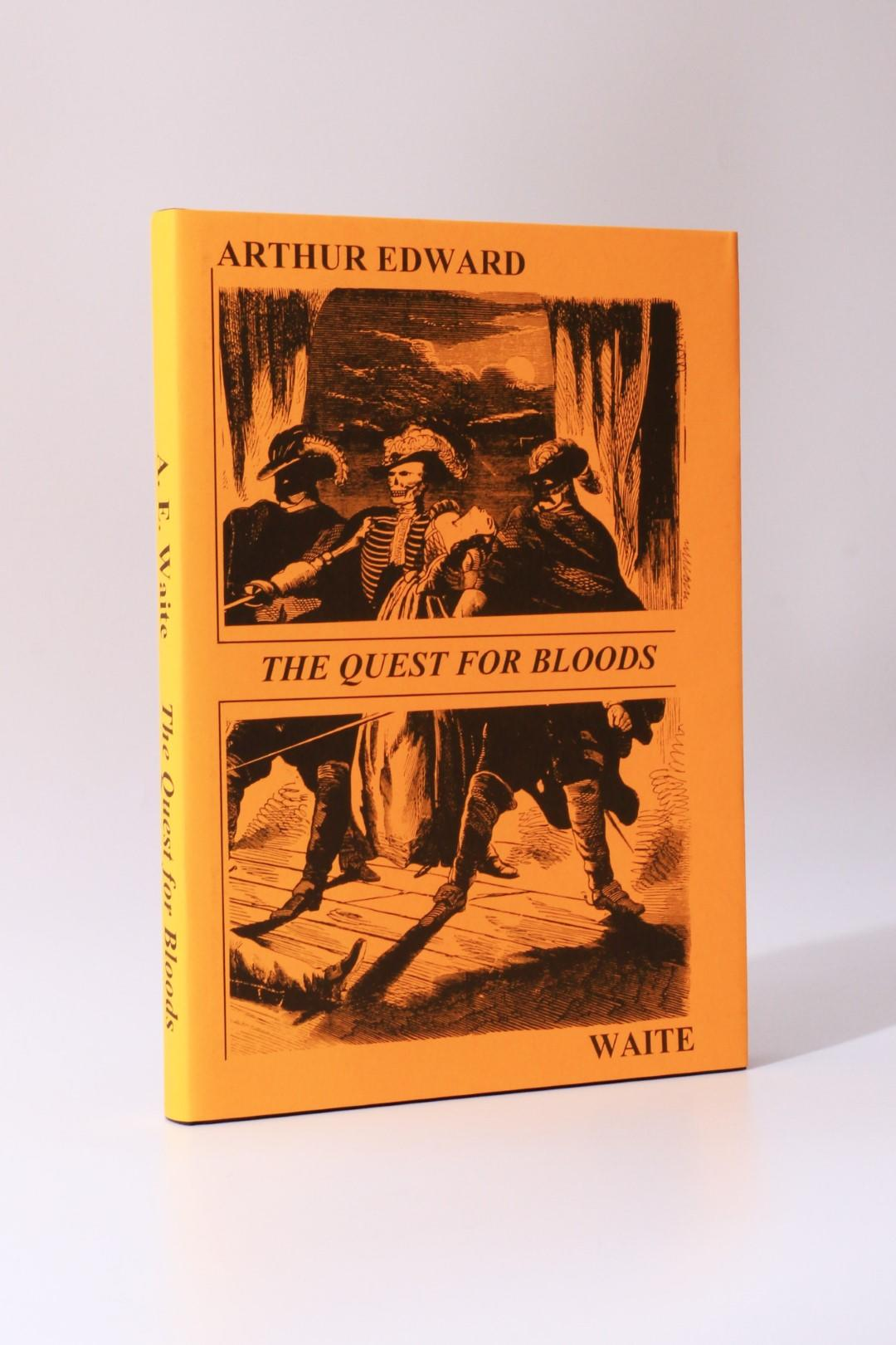 Arthur Edward White - The Quest for Bloods: A Study of the Victorian Penny Dreadful - Privately Printed, 1997, Limited Edition.