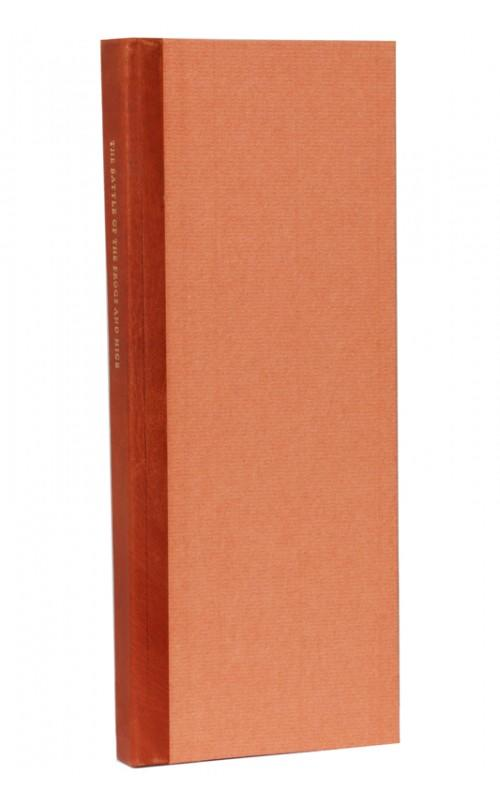 Anonymous [illus. Fiona MacVicar] - The Battle of the Frogs and Mice - Libanus Press, 1988, UK Signed Limited Edition