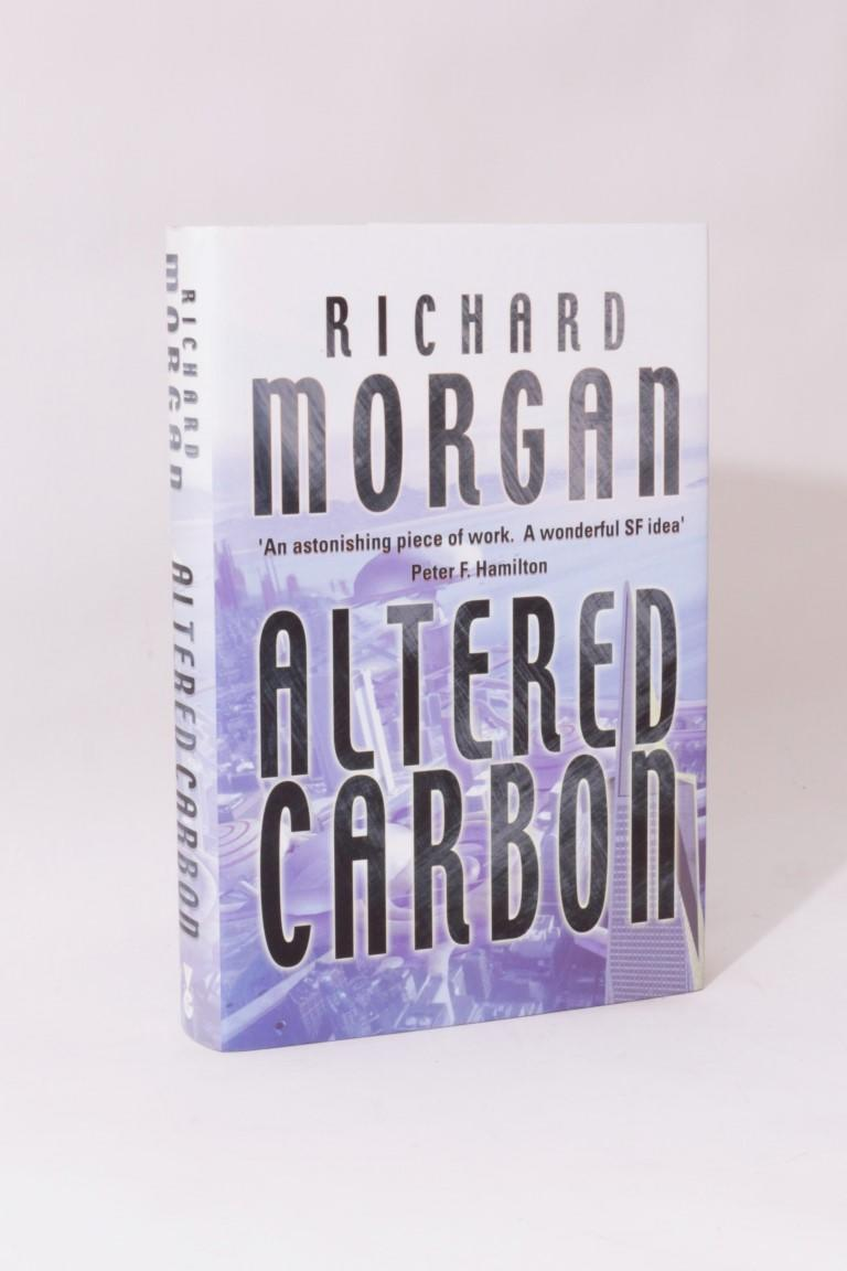 Richard Morgan - Altered Carbon - Gollancz, 2002, First Edition.  Signed