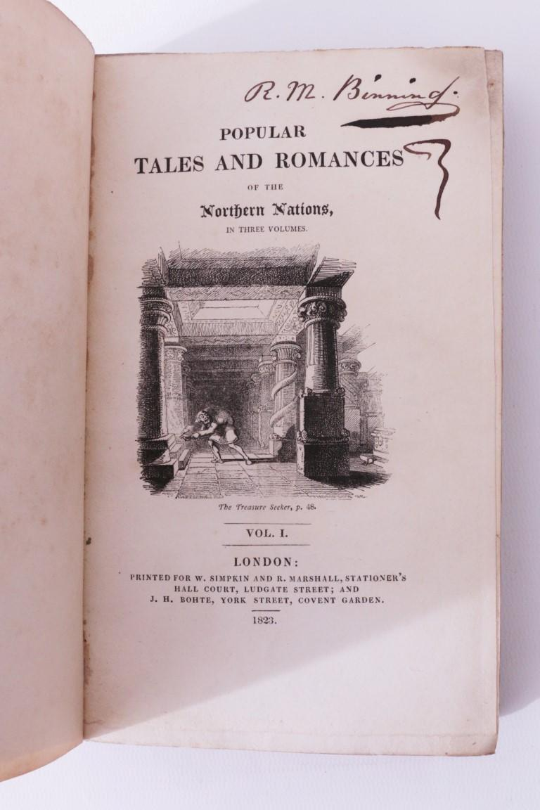 Anonymous - Popular Tales and Romances of the Northern Nations - W. Simpkin & R. Marshall, 1823, First Edition.