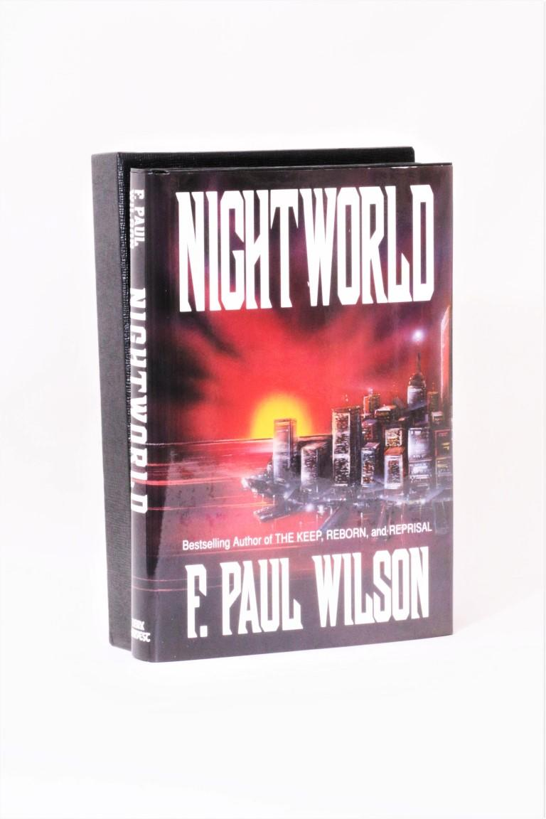 F. Paul Wilson - Nightworld - Dark Harvest, 1992, Signed Limited Edition.