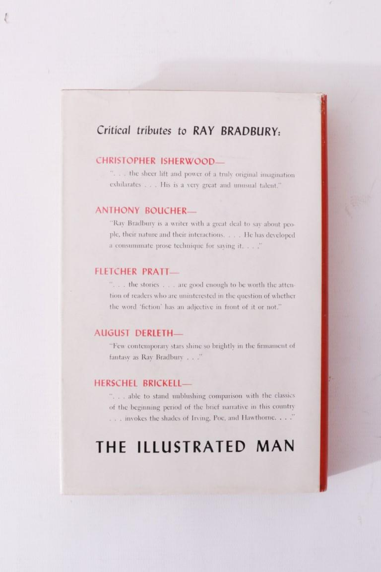 Ray Bradbury - The Illustrated Man - Doubleday, 1951, First Edition.  Signed