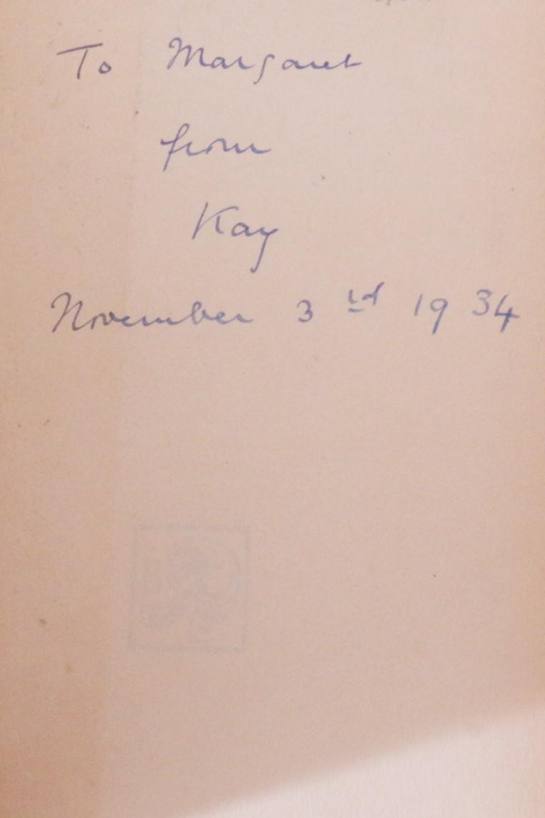 Murray Constantine - The Devil, Poor Devil - Association Copy w/ Proof - Boriswood, 1934, Signed First Edition.