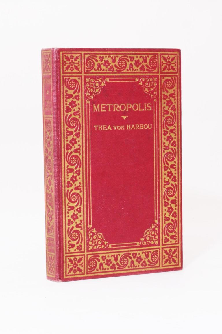 Thea von Harbou - Metropolis - Reader's Library, n.d. [1927], First Edition.