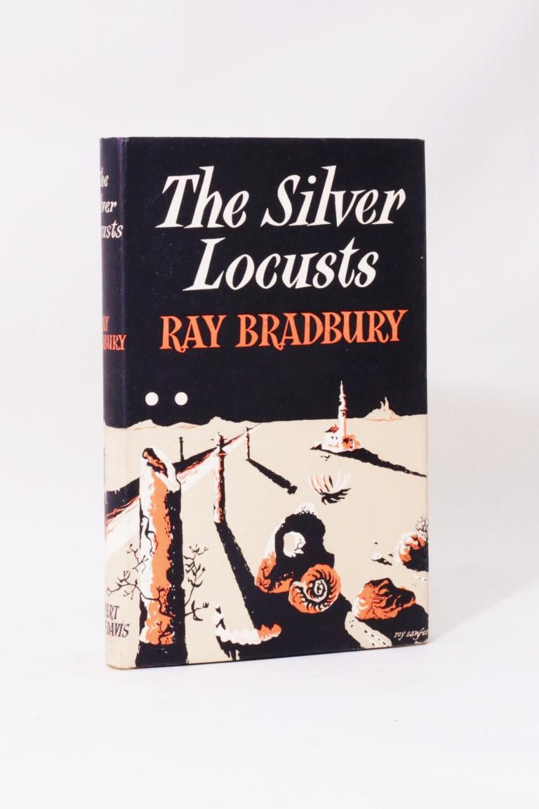 Ray Bradbury - The Silver Locusts - Rupert Hart-Davis, 1951, Signed First Edition.