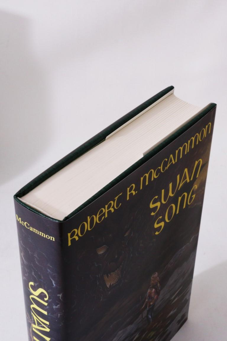 Robert R. McCammon - Swan Song - Dark Harvest, 1989, Signed Limited Edition.