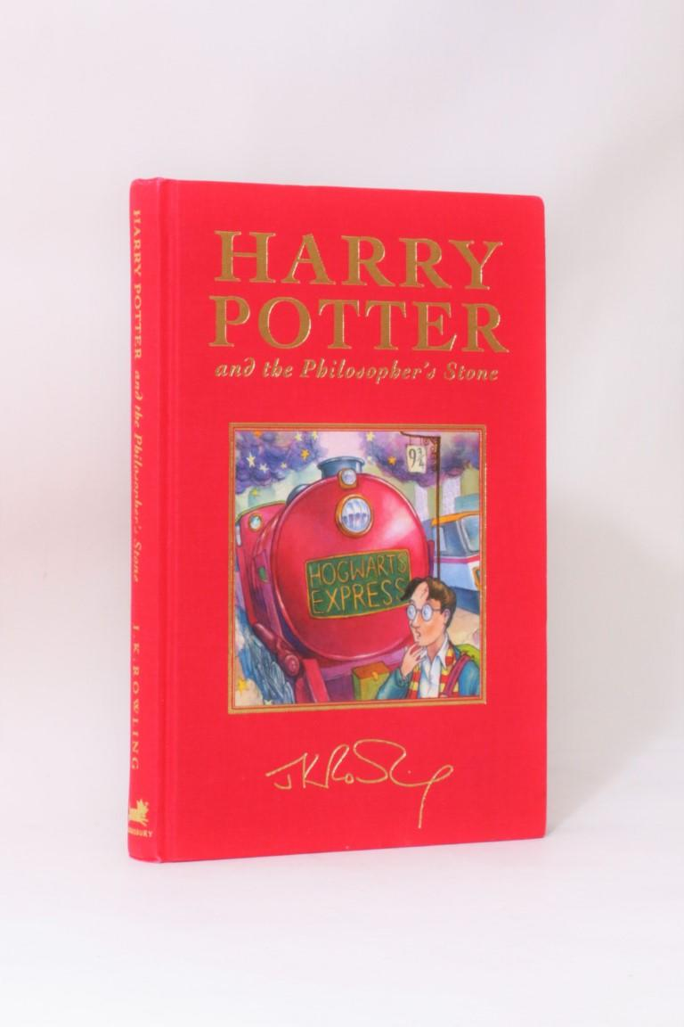 J.K. Rowling - Harry Potter and the Philosopher's Stone - Bloomsbury, 1999, First Thus.