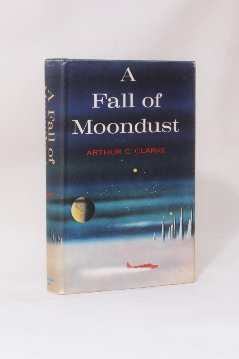 Arthur C. Clarke - A Fall of Moondust - Harcourt, Brace & World, 1961,Signed First Edition.