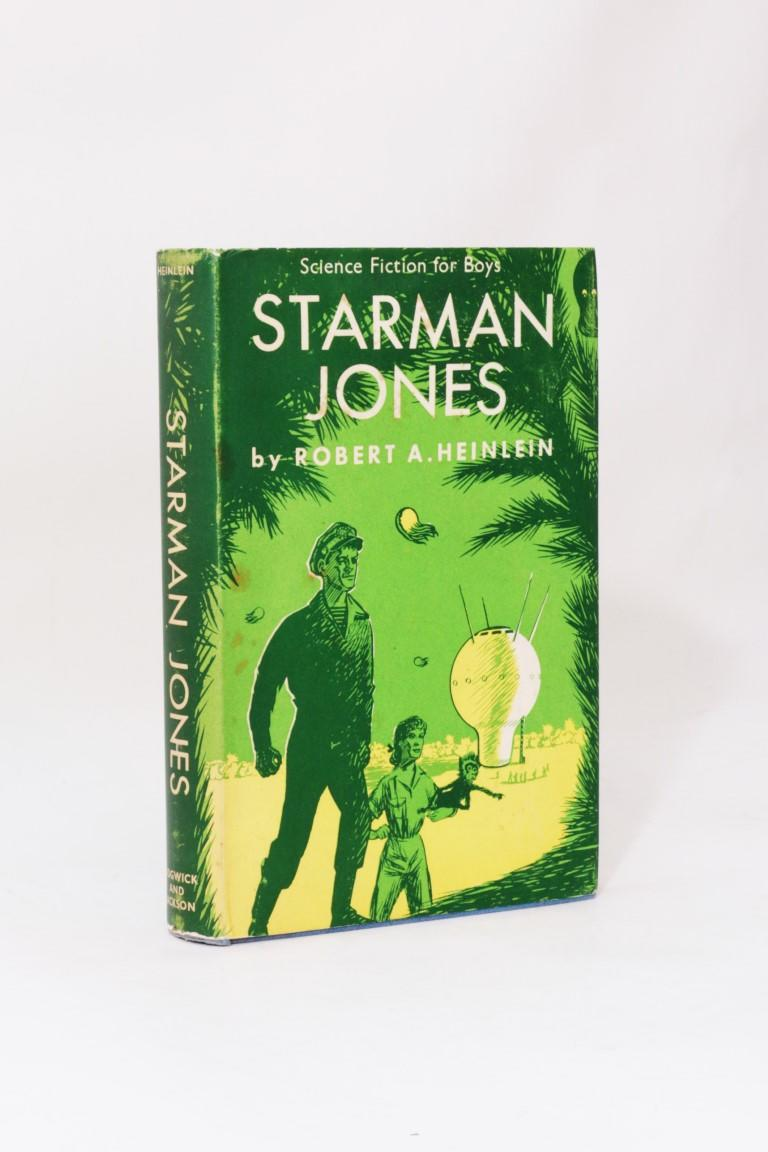 Robert A. Heinlein - Starman Jones - Sidgwick & Jackson, 1954, First Edition.