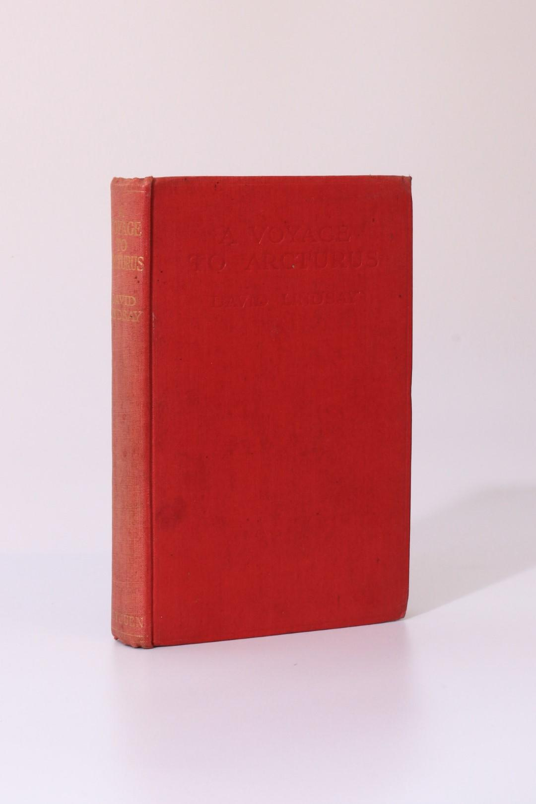 David Lindsay - A Voyage to Arcturus - Methuen, 1920, First Edition.