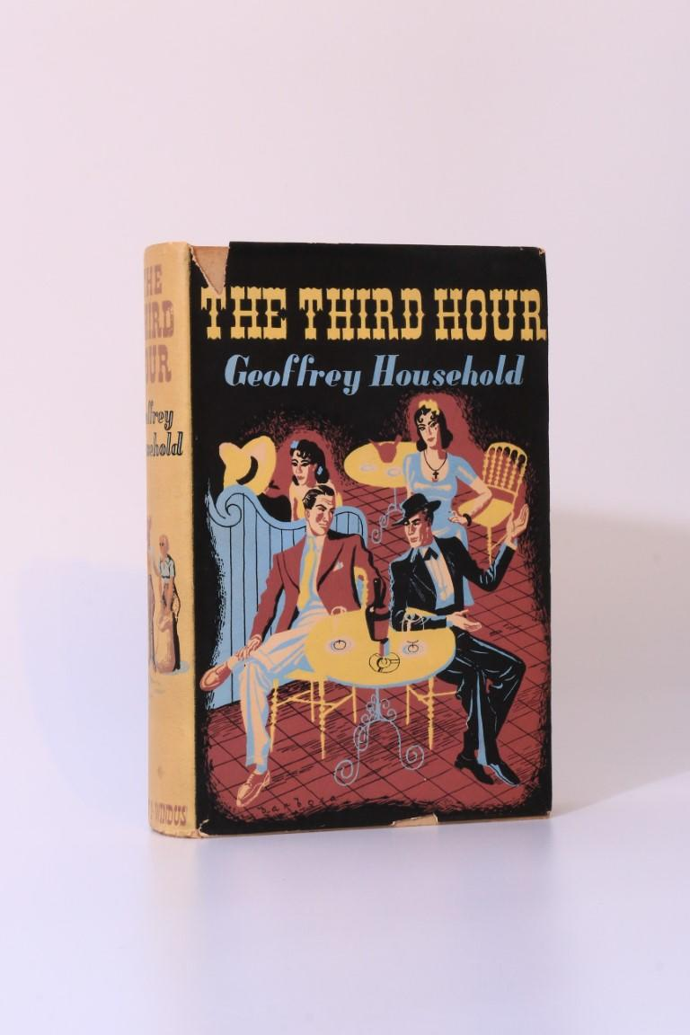 Geoffrey Household - The Third Hour - Chatto & Windus, 1937, First Edition.
