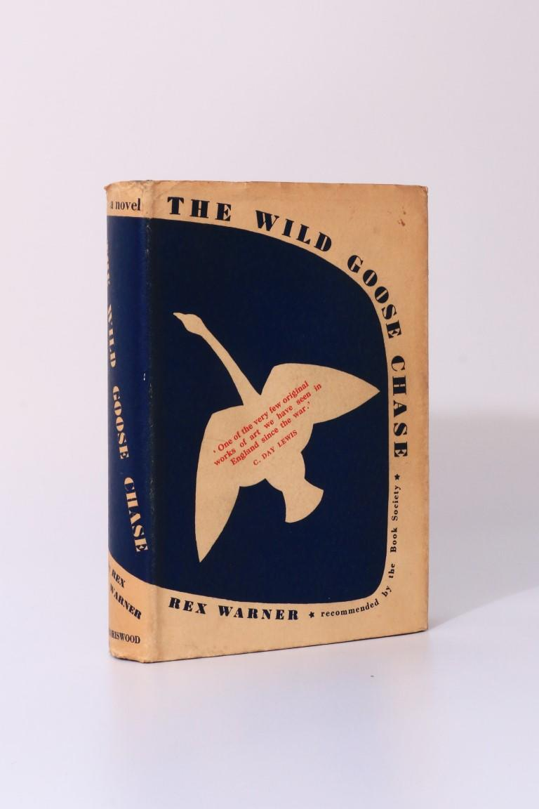 Rex Warner - The Wild Goose Chase - Boriswood, 1937, First Edition.