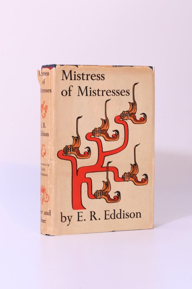 E.R. Eddison - Mistress of Mistresses: A Vision of Zimiamvia - Faber & Faber, 1935, Signed First Edition.