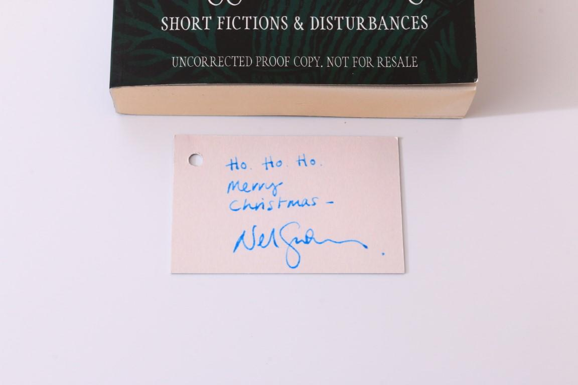 Neil Gaiman - Trigger Warning - Headline, 2015, Proof. Signed