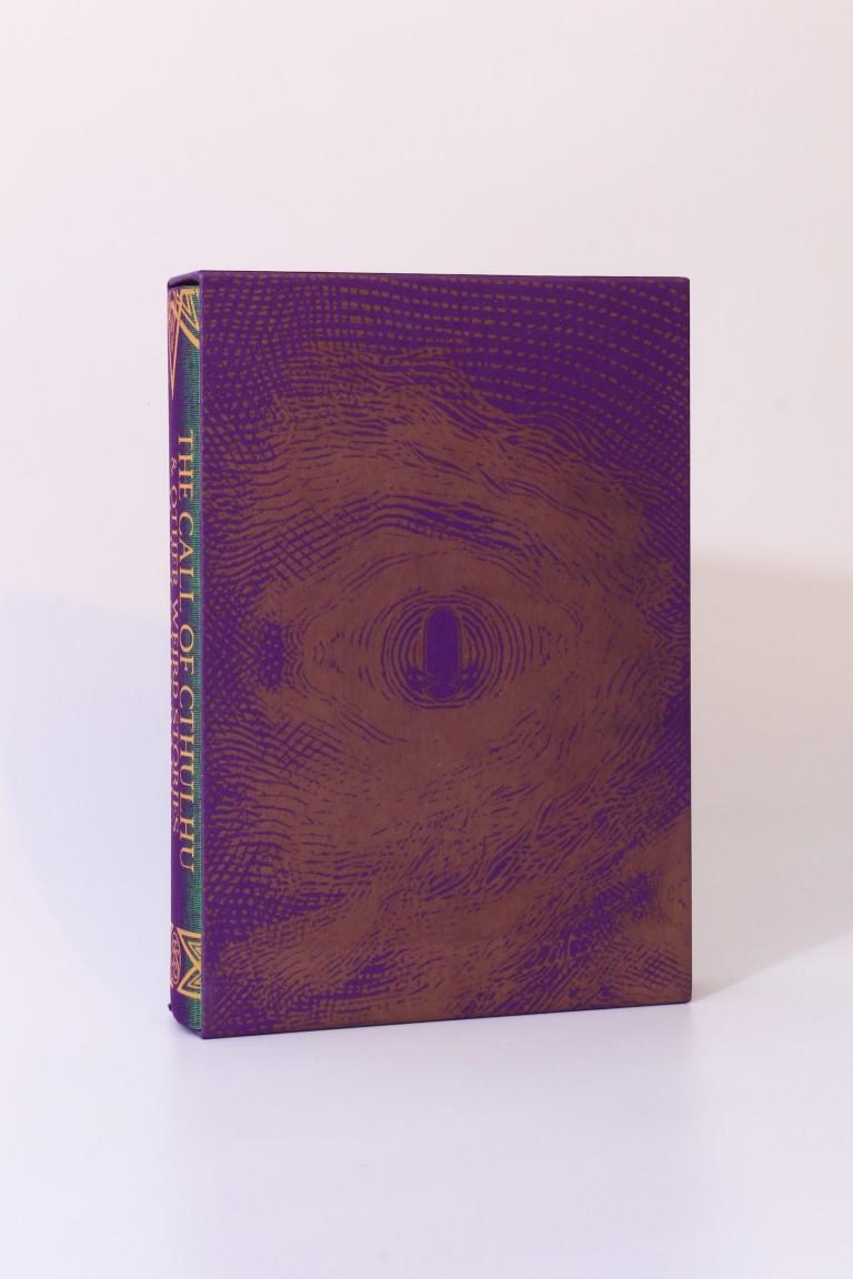 H.P. Lovecraft - The Call of Cthulhu & Other Weird Stories - Folio Society, 2018, First Thus.