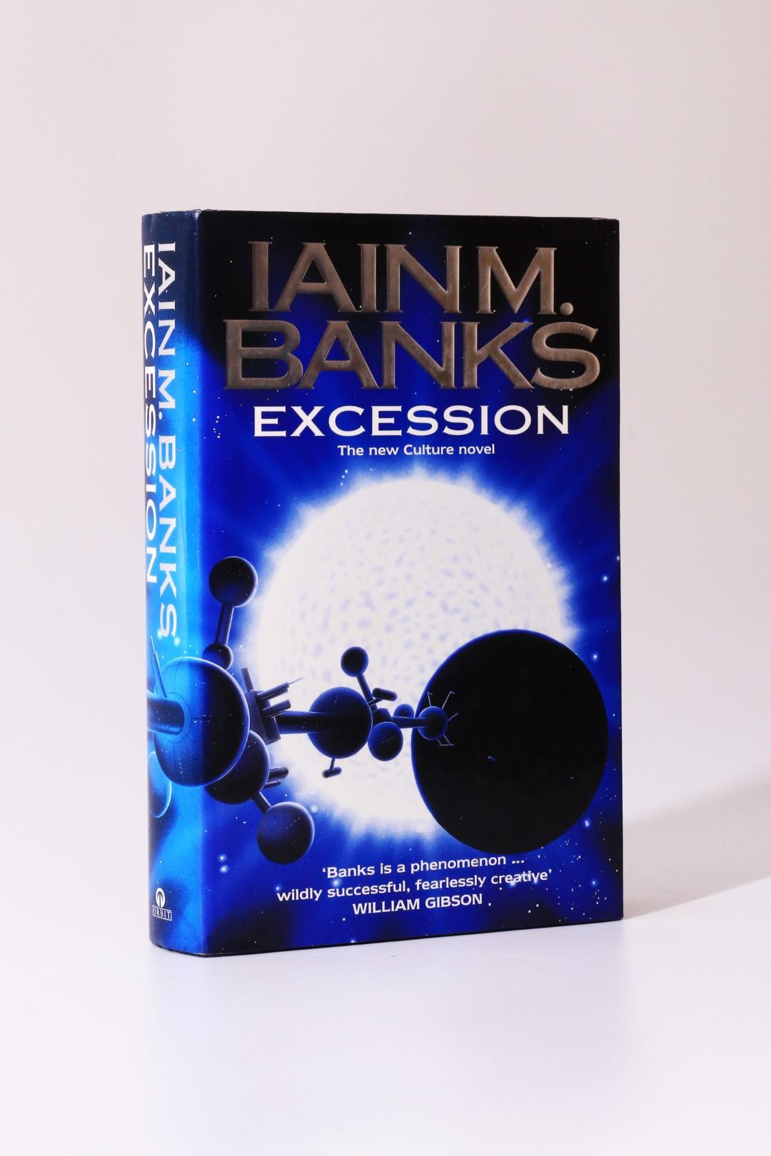 Iain M. Banks - Excession - Orbit, 1996, Signed First Edition.