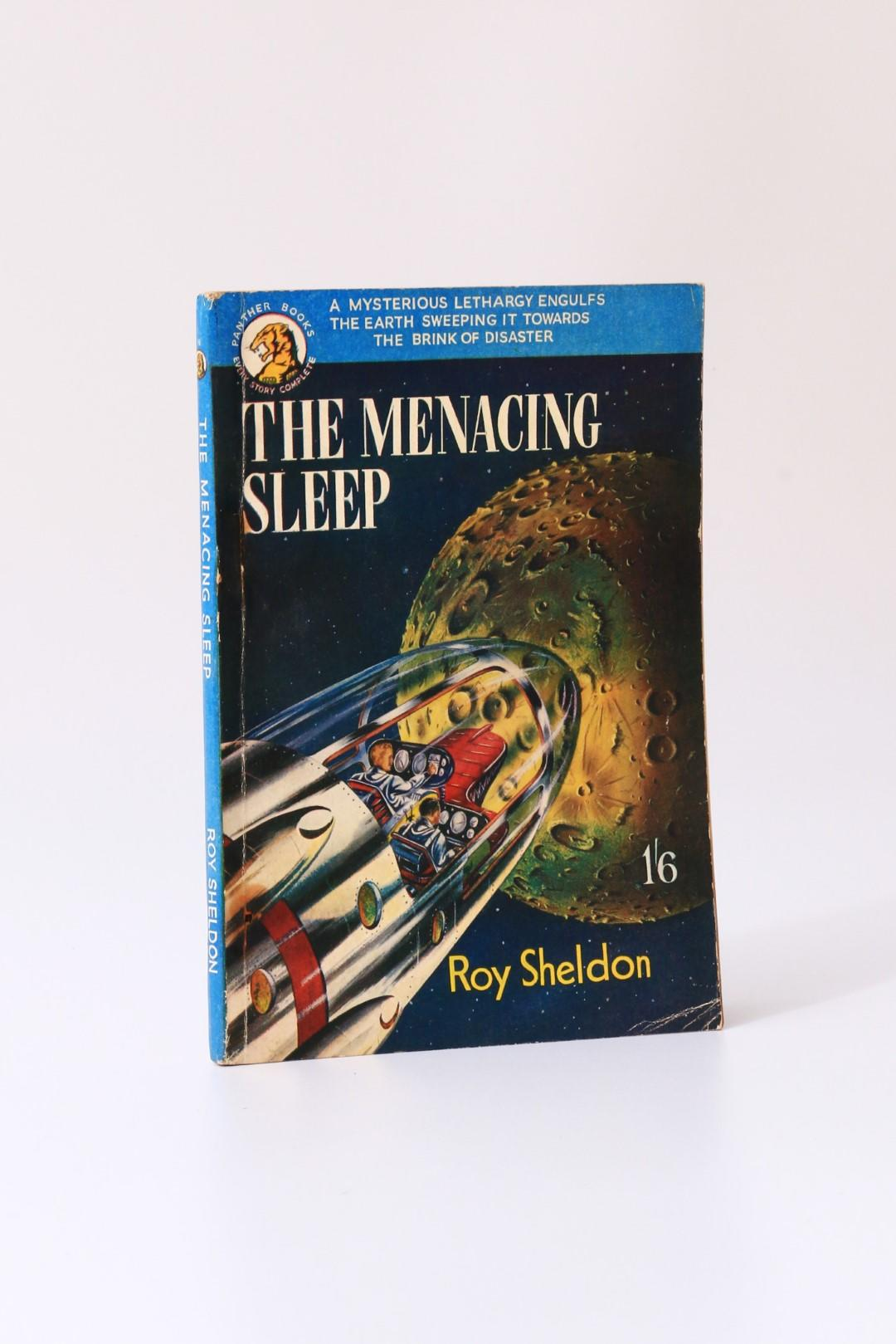 Roy Sheldon (aka E.C. Tubb) - The Menacing Sleep - Panther Books / Hamilton & Co., 1952, First Edition.