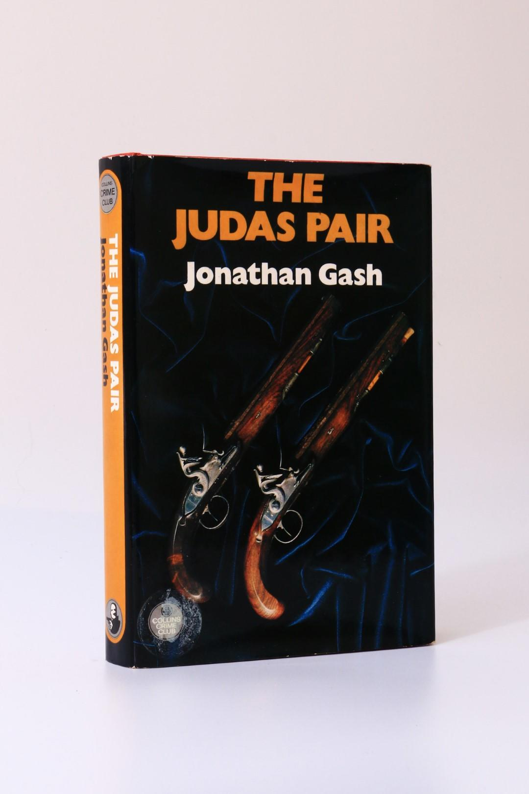 Jonathan Gash - The Judas Pair - Collins, 1977, Signed First Edition.