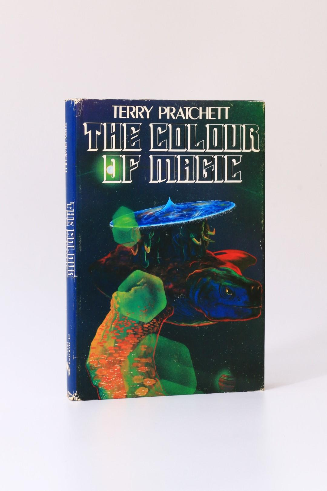 Terry Pratchett - The Colour of Magic - St Martin's Press, 1983, Signed First Edition.