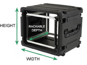 Rack Case Sizes