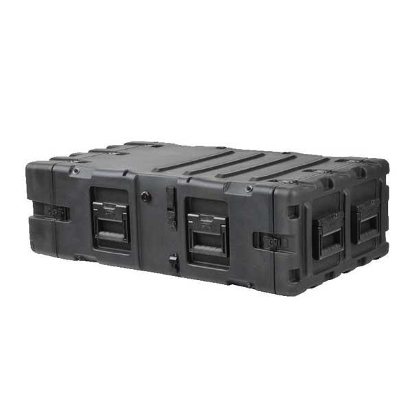 SKB 3RS-4U30-25B - 30 Inch Deep Static Shock Rack Case - 4U