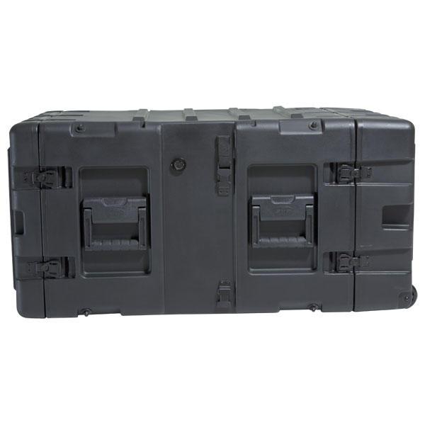 SKB 3RR-7U24-25B - 24 Inch Deep Removable Shock Rack Case - 7U