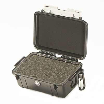 Peli 1050 MicroCase with Cubed Foam