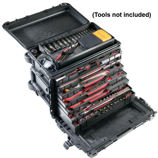 Peli 0450 Mobile Tool Chest with Tool Trays