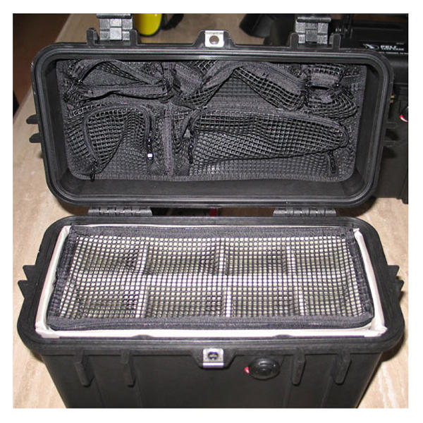 Peli 1430 Utility/Photo Divider Set + Lid Organiser