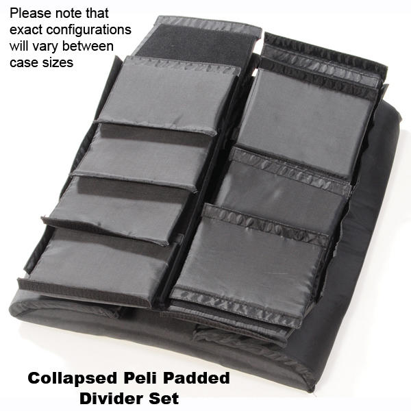 Peli 1650 Padded Divider Set