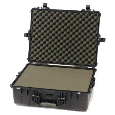 Peli 1600 Case with Cubed Foam