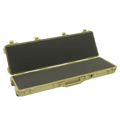 Peli 1750 Rifle Case with Layered Foam