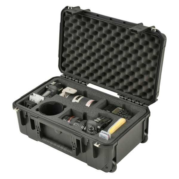 SKB 3i-20117SLR2 Waterproof Case for 2 DSLR Cameras with Lenses