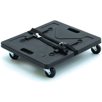 1SKB-1916 - Caster Board for SKB 20 Inch Deep Roto Shock Racks