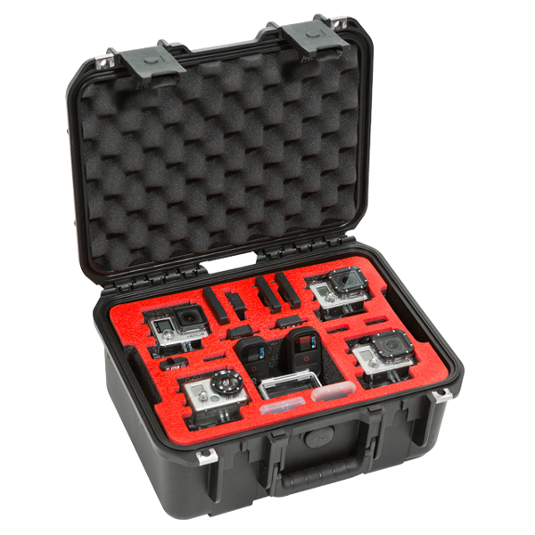 SKB 3i-1309-6GP4 Waterproof Case for 4 GoPro Cameras