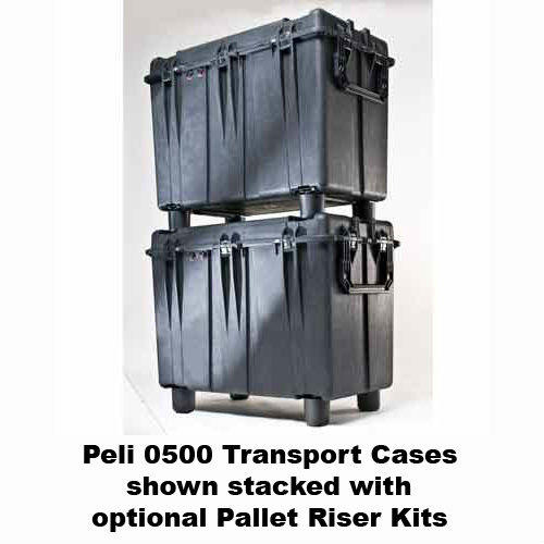 Peli 0500 Case with Cubed Foam