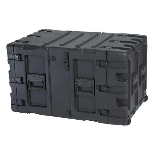 SKB 3RS-9U24-25B - 24 Inch Deep Static Shock Rack Case - 9U