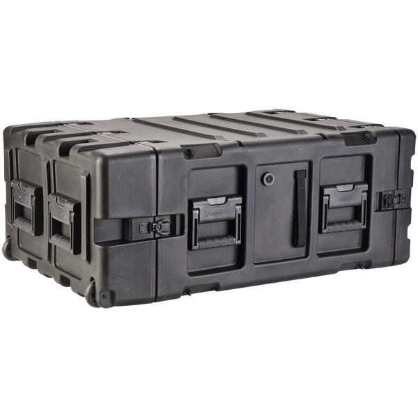 SKB 3RR-5U24-25B - 24 Inch Deep Removable Shock Rack Case - 5U
