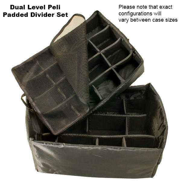 Peli 0350 Cube Case with Dividers