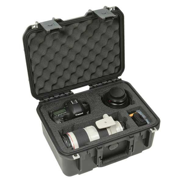 SKB 3i-13096SLR2 Waterproof Case for 2 DSLR Cameras