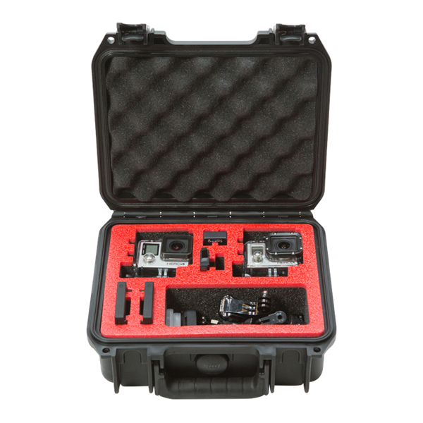 SKB 3i-0907-4-GP2 Waterproof Case for 2 GoPro Cameras