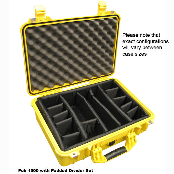 Peli 1550 Padded Divider Set