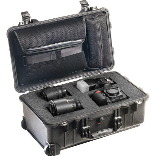 Peli 1510LFC Case with Cubed Foam and Laptop Lid Organiser