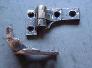 Victorian carriage door or Veteran, Vintage car door hinges