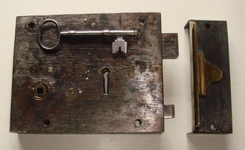Victorian 8 x 6 inch 6-Lever Detector Lock