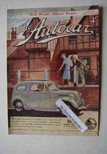 1939 Colour Priced Advertisement for The Ford 8 Saloon Car