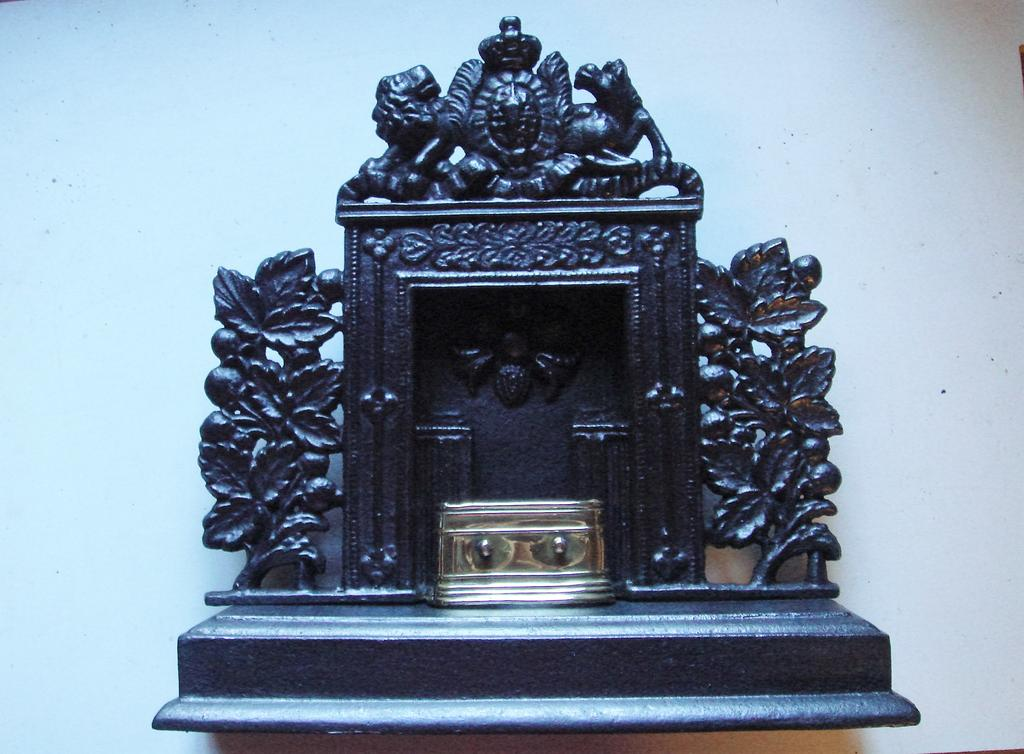 Miniature Cast Iron Fireplaces of the late 18th and early 19th Centuries